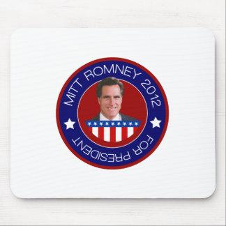 Mitt Romney para el presidente 2012 de los E.E.U.U Mouse Pad