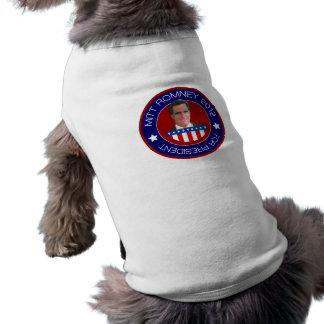 Mitt Romney para el presidente 2012 de los E.E.U.U Playera Sin Mangas Para Perro