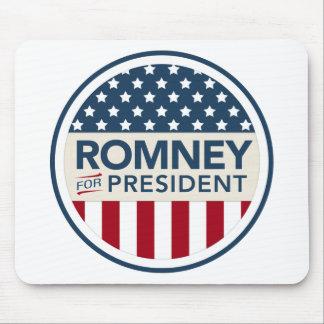 Mitt Romney para el presidente 2012 (estilo de la  Tapete De Raton