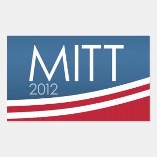 Mitt Romney para el presidente 2012 Pegatinas