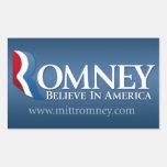 Mitt Romney para el presidente 2012 Pegatina