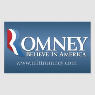Mitt Romney para el presidente 2012 Rectangular Altavoz