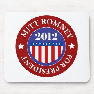 Mitt Romney para el presidente 2012 Tapete De Raton