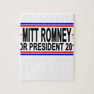 MITT ROMNEY PARA el PRESIDENTE 2016 camisetas .png Rompecabezas