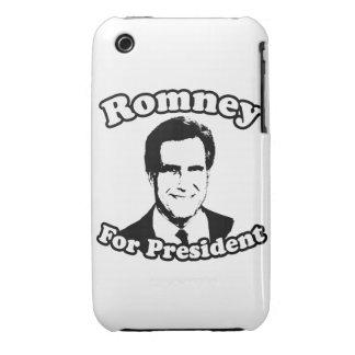 MITT ROMNEY PARA EL PRESIDENTE 2 iPhone 3 CARCASA