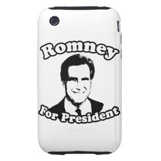 MITT ROMNEY PARA EL PRESIDENTE 2 iPhone 3 TOUGH COBERTURA