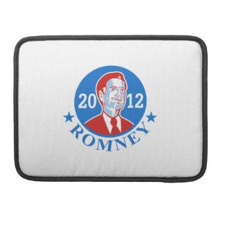 Mitt Romney para el presidente americano 2012 Fundas Macbook Pro