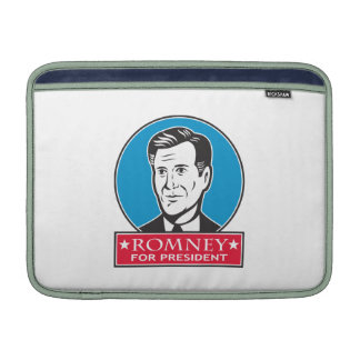 Mitt Romney para el presidente americano Fundas MacBook