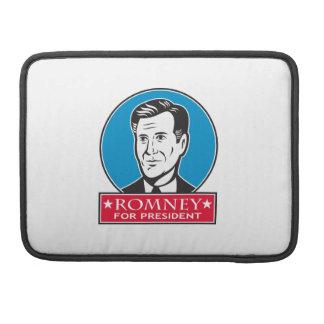 Mitt Romney para el presidente americano Funda Macbook Pro
