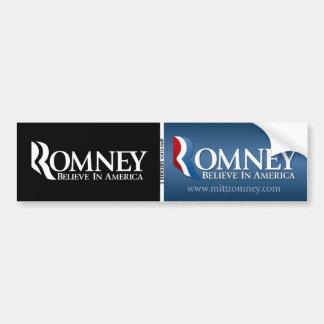 Mitt Romney para el presidente - BOGO Pegatina De Parachoque