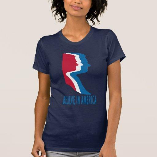 Mitt Romney para el presidente 'cree en America Playeras
