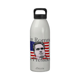 Mitt Romney para el presidente elección 2016 Botellas De Agua Reutilizables