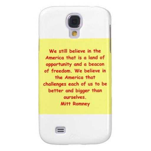 Mitt Romney para el presidente Funda Para Galaxy S4