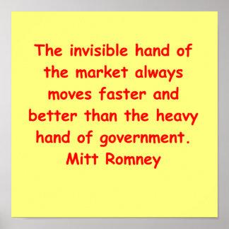 Mitt Romney para el presidente Impresiones