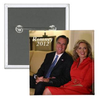 ¡Mitt Romney para el presidente! Pins