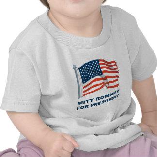 Mitt Romney para el presidente Camisetas