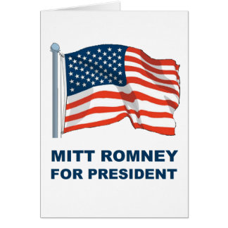 Mitt Romney para el presidente Felicitación