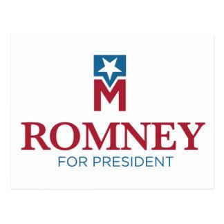 Mitt Romney para el presidente Postal