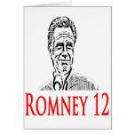 Mitt Romney para el presidente Tarjetón