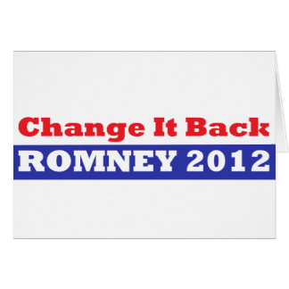 Mitt Romney para las barras y estrellas del presid Felicitacion