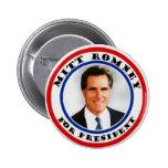 Mitt Romney para presiden el botón
