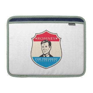 Mitt Romney para presidente americano Shield Fundas MacBook