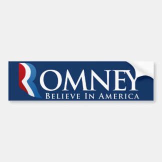 Mitt Romney para presidente Bumpersticker Pegatina Para Auto