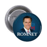 Mitt Romney para presidente Button Pin