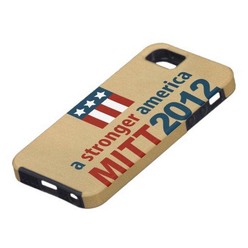 Mitt Romney para un caso más fuerte del iPhone 5 d iPhone 5 Carcasas