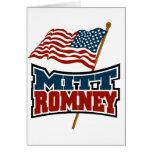 Mitt Romney Patriotic Greeting Card