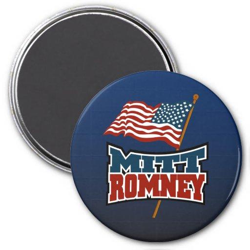 Mitt Romney Patriotic Magnets