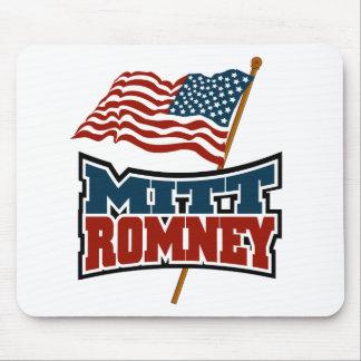Mitt Romney Patriotic Mouse Pad