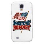 Mitt Romney Patriotic Samsung Galaxy S4 Cases