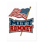 Mitt Romney patriótico Postales