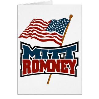 Mitt Romney patriótico Tarjetas