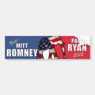 Mitt Romney - Paul Ryan 2012 Bumper Sticker