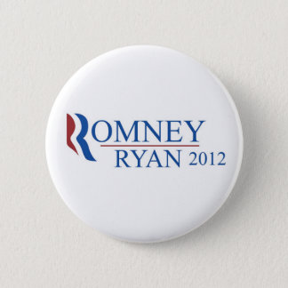 Mitt Romney Paul Ryan 2012 Button