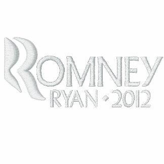 Mitt Romney Paul Ryan 2012 Polo Bordado