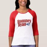 Mitt Romney Paul Ryan 2012 Camisetas