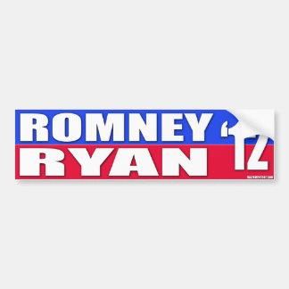 Mitt Romney & Paul Ryan 2012 Campaign Bumper Stick Bumper Sticker