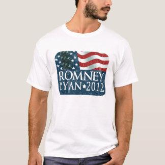 Mitt Romney Paul Ryan 2012 descolorado Playera