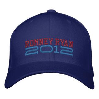 Mitt Romney Paul Ryan 2012 Embroidered Baseball Cap