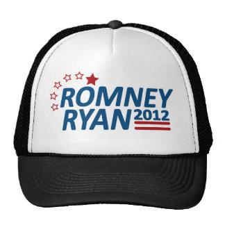 Mitt Romney Paul Ryan 2012 estrellas Gorro De Camionero