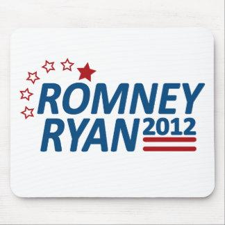 Mitt Romney Paul Ryan 2012 estrellas Tapetes De Raton