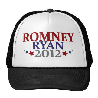 Mitt Romney Paul Ryan 2012 Mesh Hats