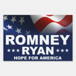 Mitt Romney Paul Ryan 2012 Letreros