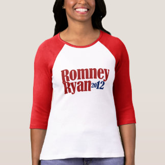 Mitt Romney Paul Ryan 2012 Playera