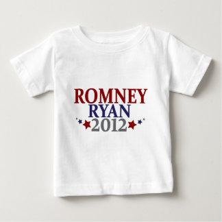 Mitt Romney Paul Ryan 2012 Playera De Bebé