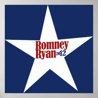Mitt Romney Paul Ryan 2012 Posters