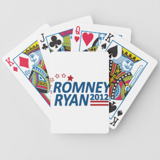Mitt Romney Paul Ryan 2012 Stars Bicycle Playing Cards